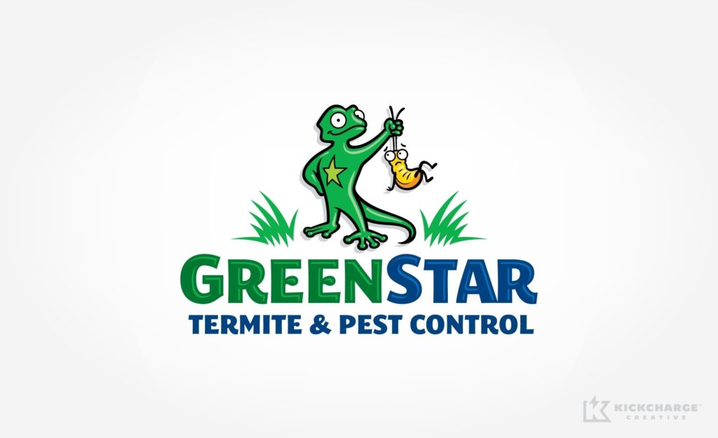 Logo design for pest control company in Virginia.