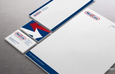 Stationery design and printing for Giffen Solutions, Inc.