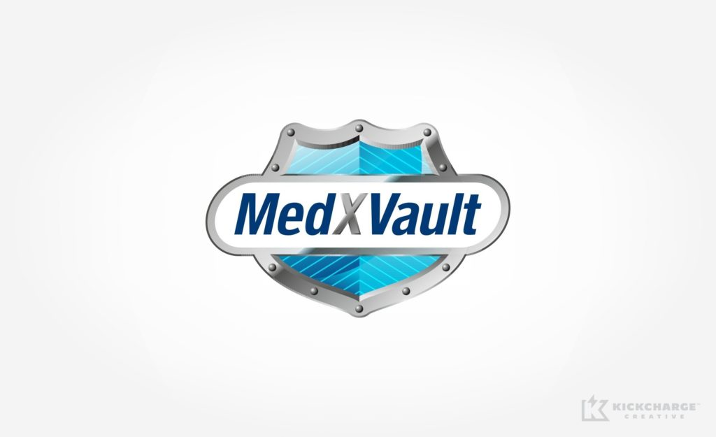 Logo design for Giffen Solutions, Inc. - MedXVault