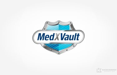Logo design for Giffen Solutions, Inc. - MedXVault