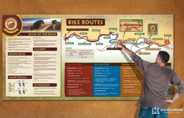 bright angel bicycle rentals trail map