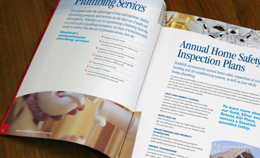 Collateral and brochure design, copywriting and printing for Stashluk.