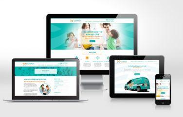 hvac website for Monarch Home Services