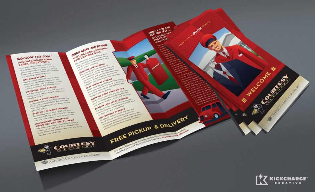 Layout, design and copywriting for a new customer brochure.