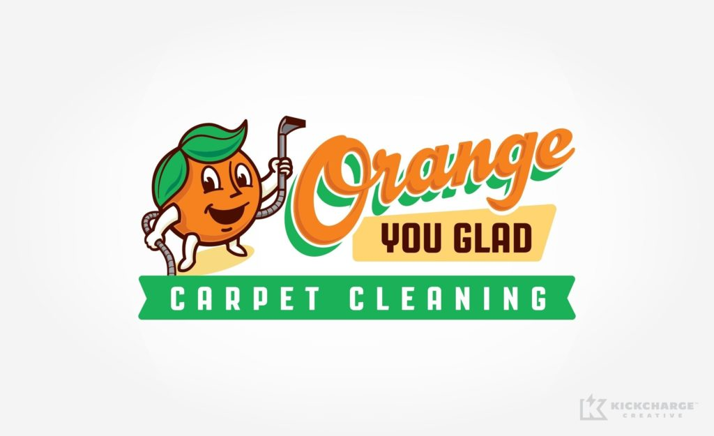 Logo design for this Kansas-based carpet cleaning company.