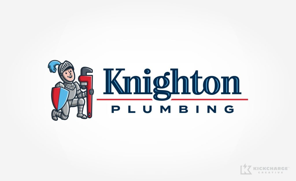 Logo design for Knighton Plumbing.