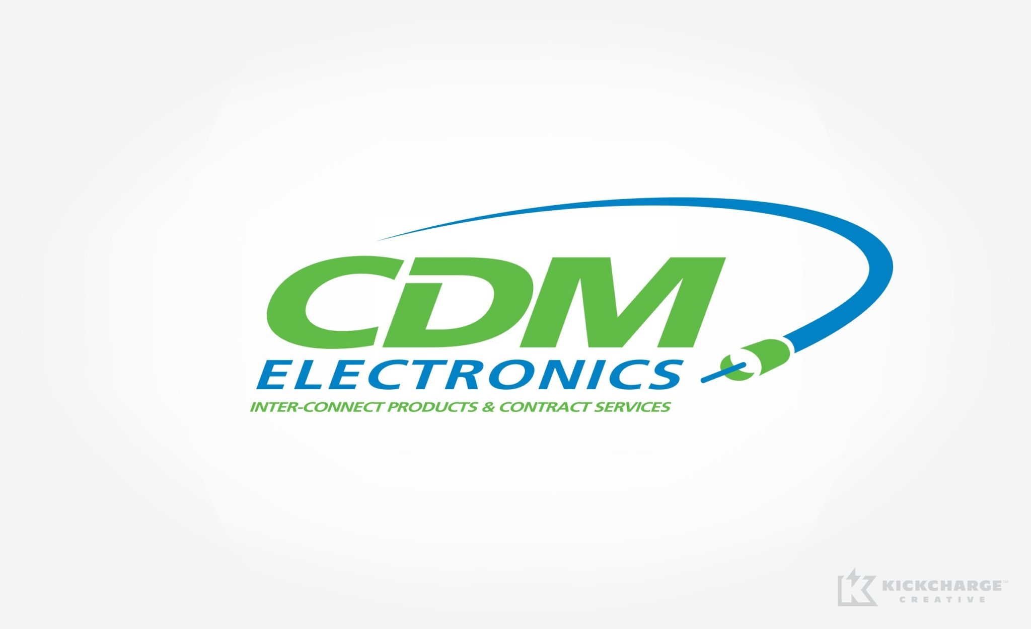 Logo design for CDM Electronics.