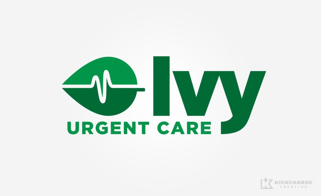 Logo design for Ivy Urgent Care.
