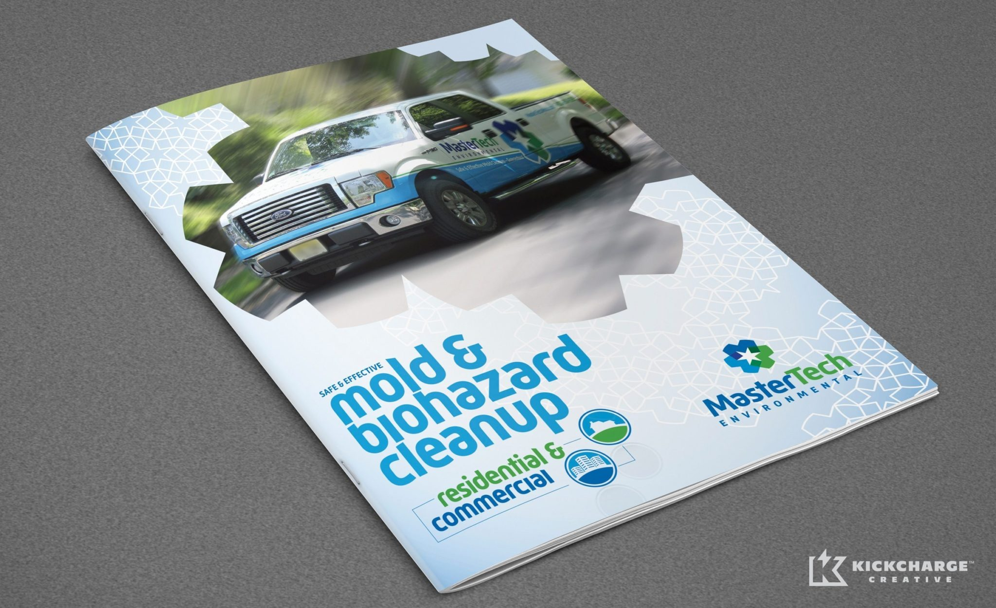 Brochure design for a mold remediation company in NJ.