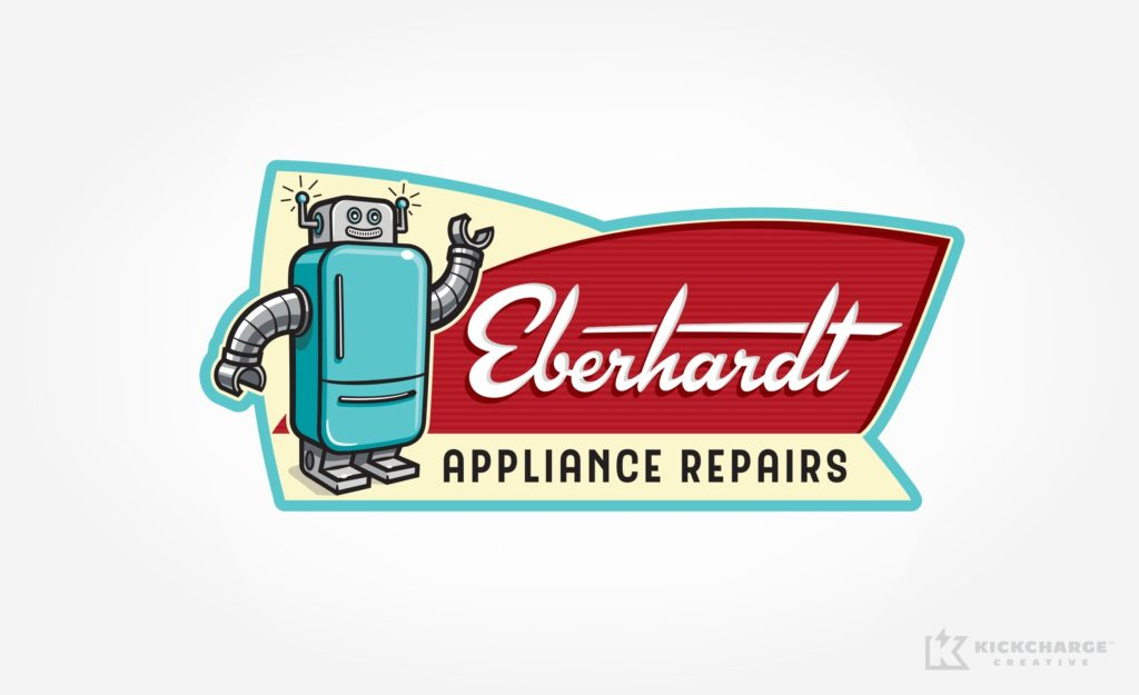 Logo design for Eberhardt Appliance Repairs.