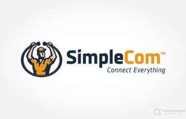 Logo Design for SimpleCom.
