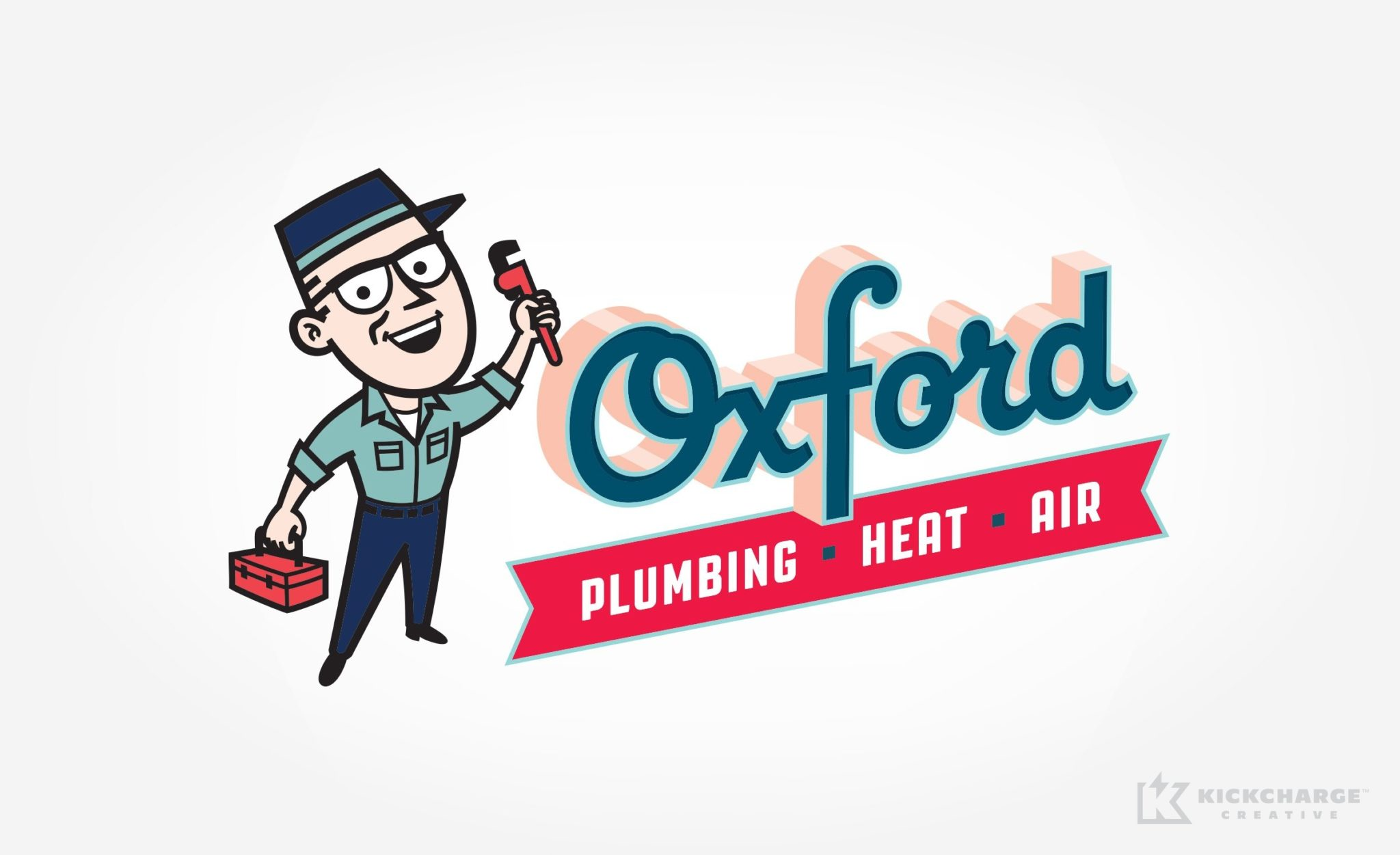 Logo design for Oxford Plumbing, Heat & Air.
