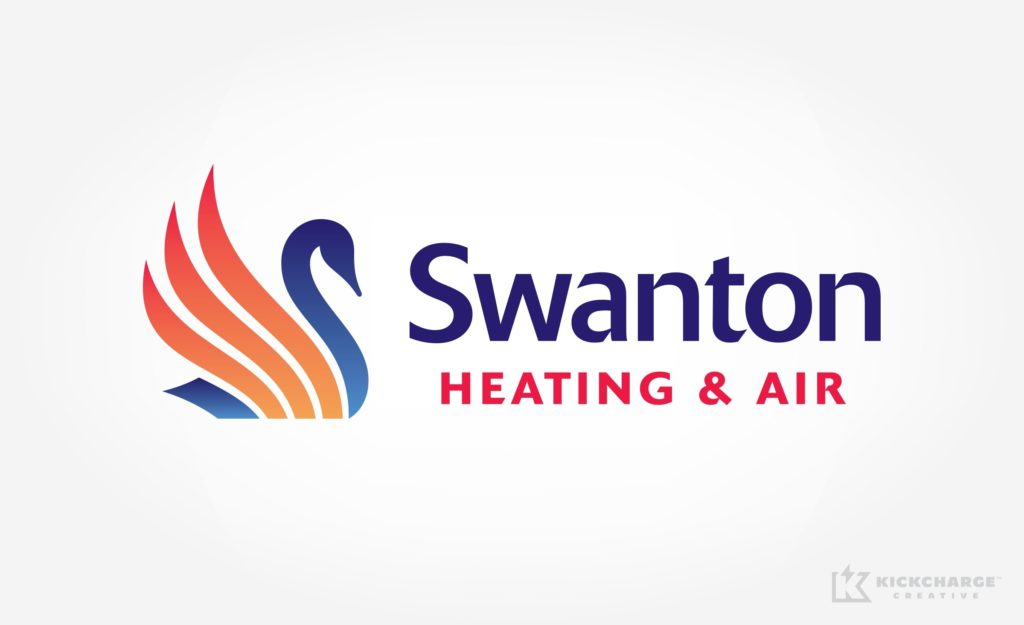Logo design for a New Jersey-based HVAC contractor.
