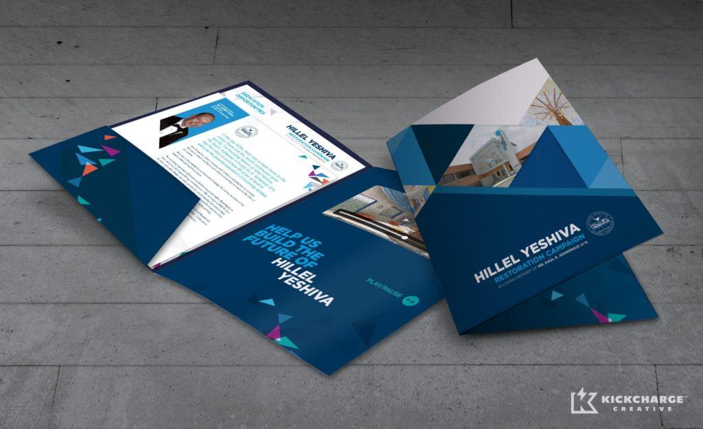 Video brochure design for this NJ-based Orthodox Jewish school.