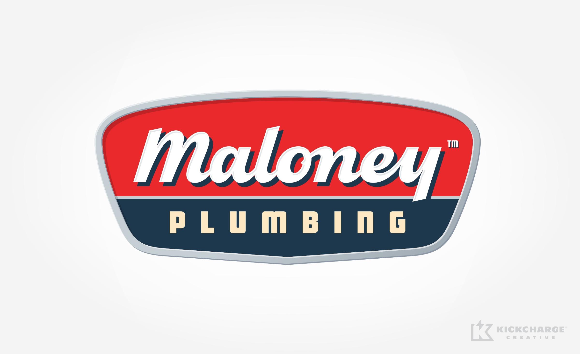 plumbing logo for Maloney Plumbing