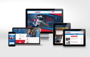 hvac website for Larson Air Conditioning