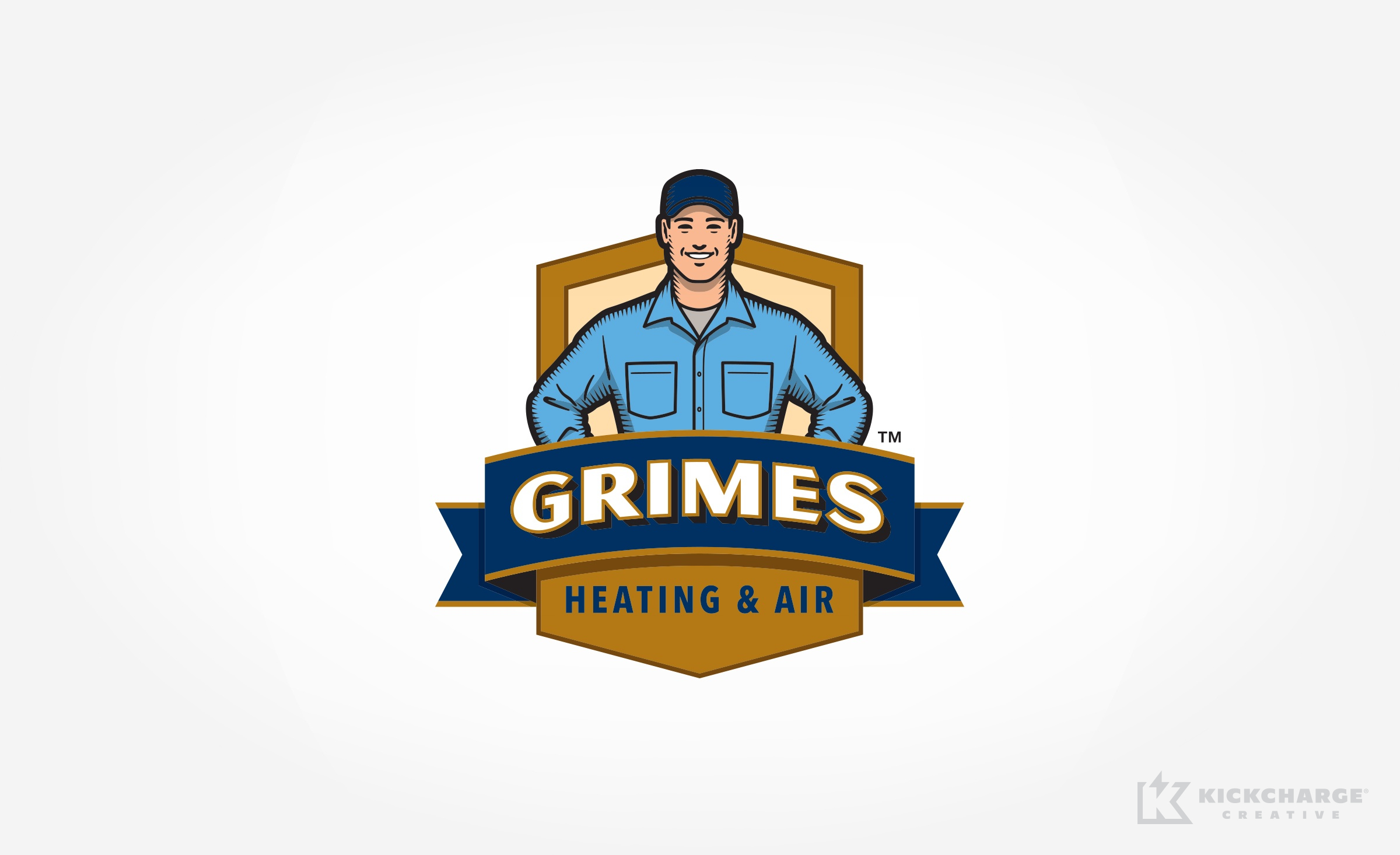hvac logo for Grimes Heating & Air