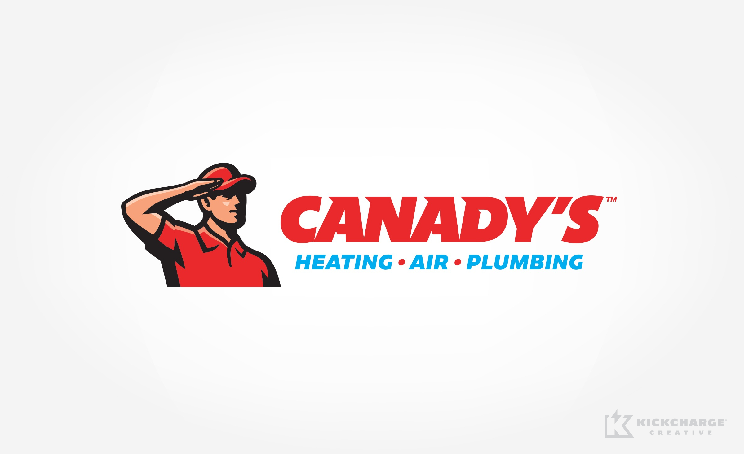 hvac and plumbing logo for Canady's