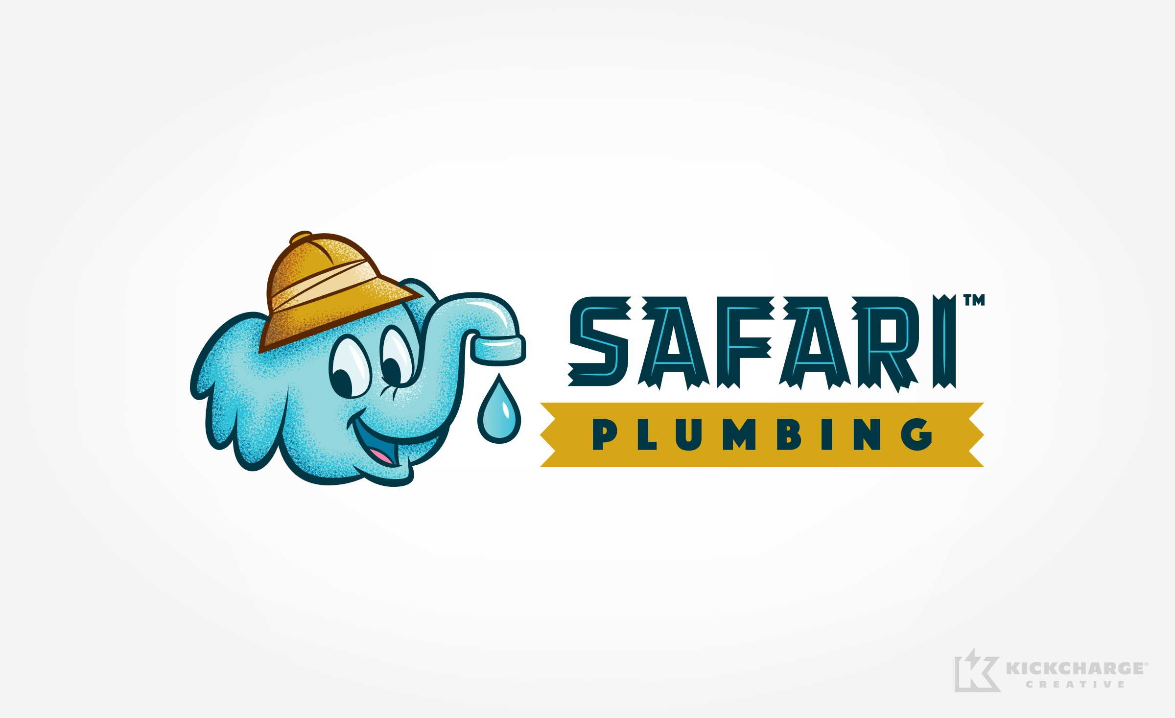 plumbing logo for Safari Plumbing