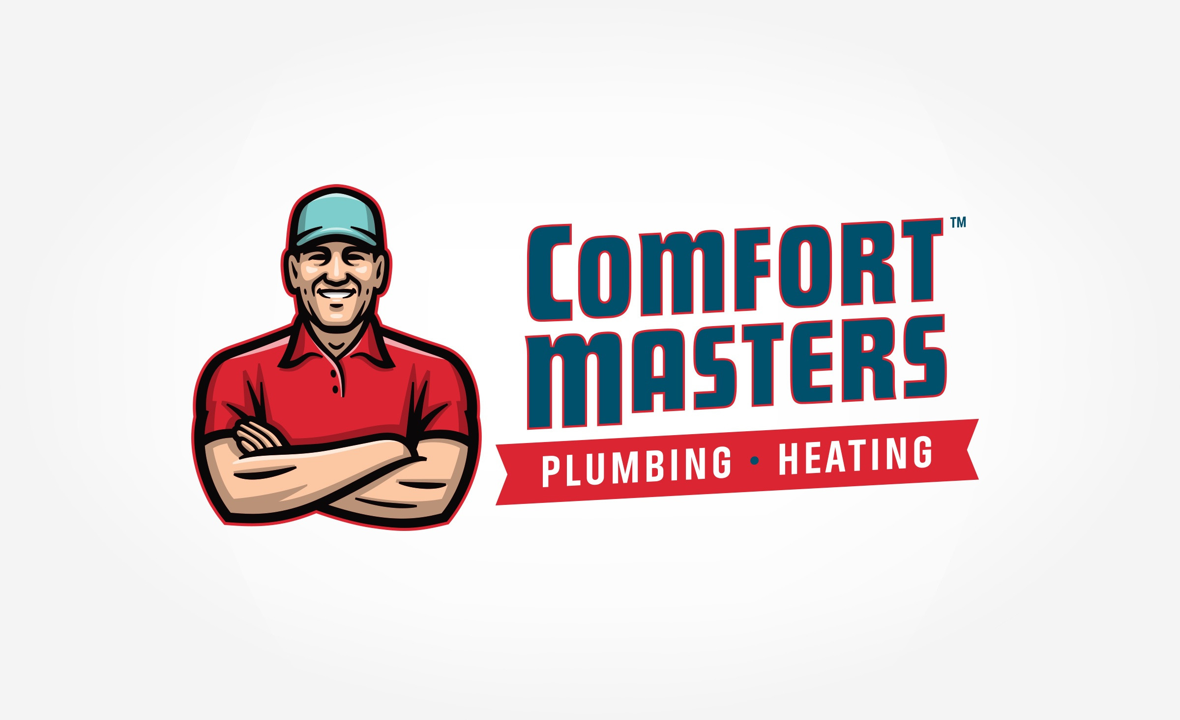 plumbing and hvac logo for Comfort Masters