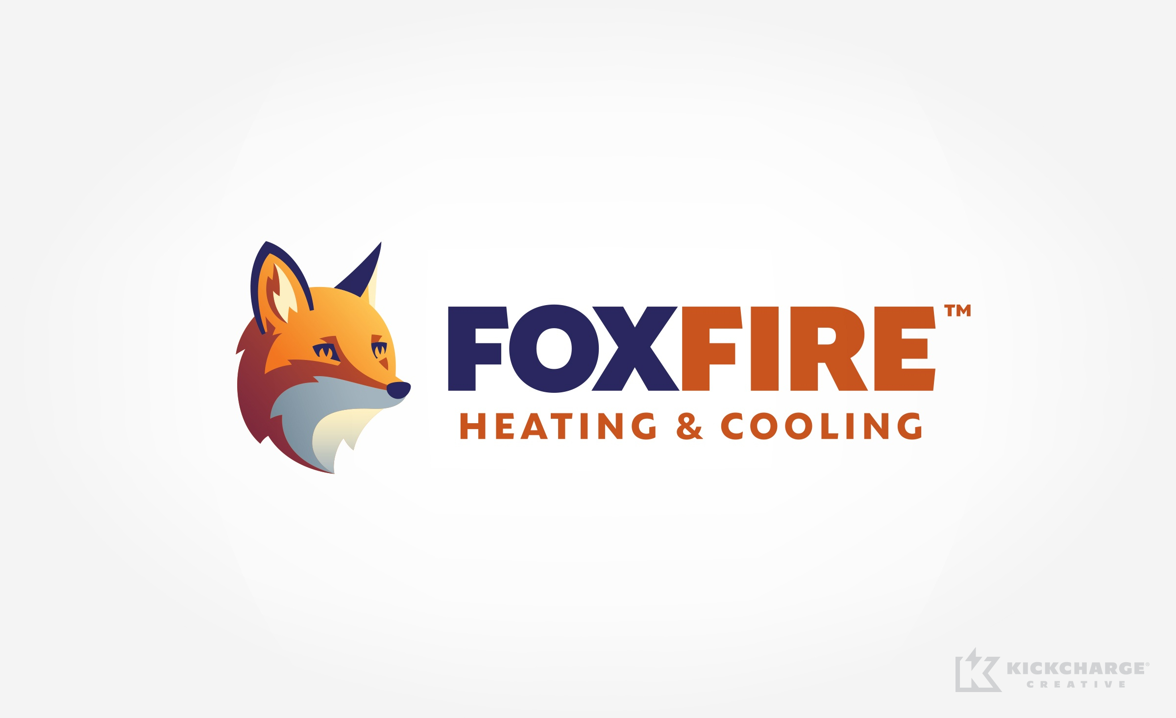 hvac logo for FoxFire Heating & Cooling