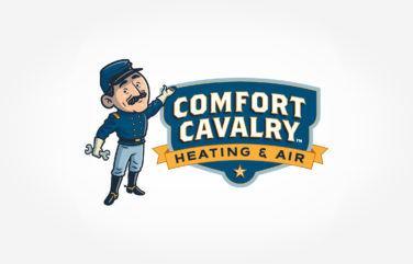 hvac logo for Comfort Cavalry