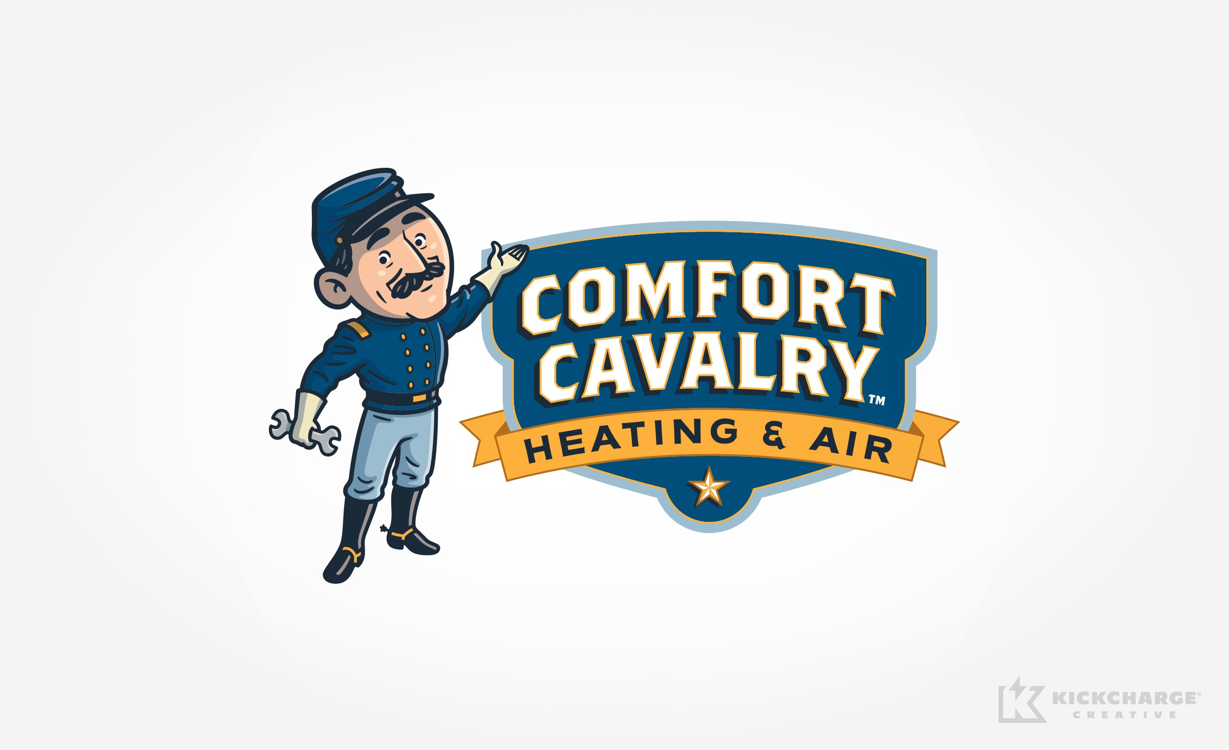 hvac logo for Comfort Cavalry