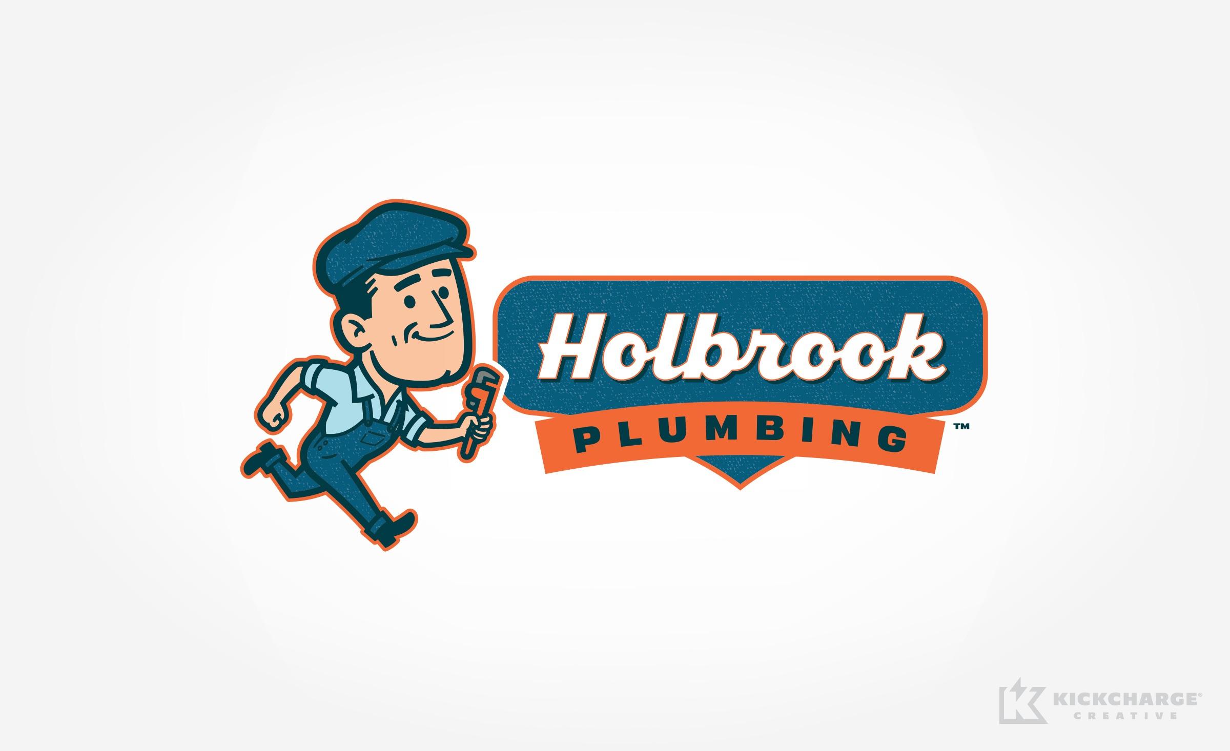 plumbing logo for Holbrook Plumbing