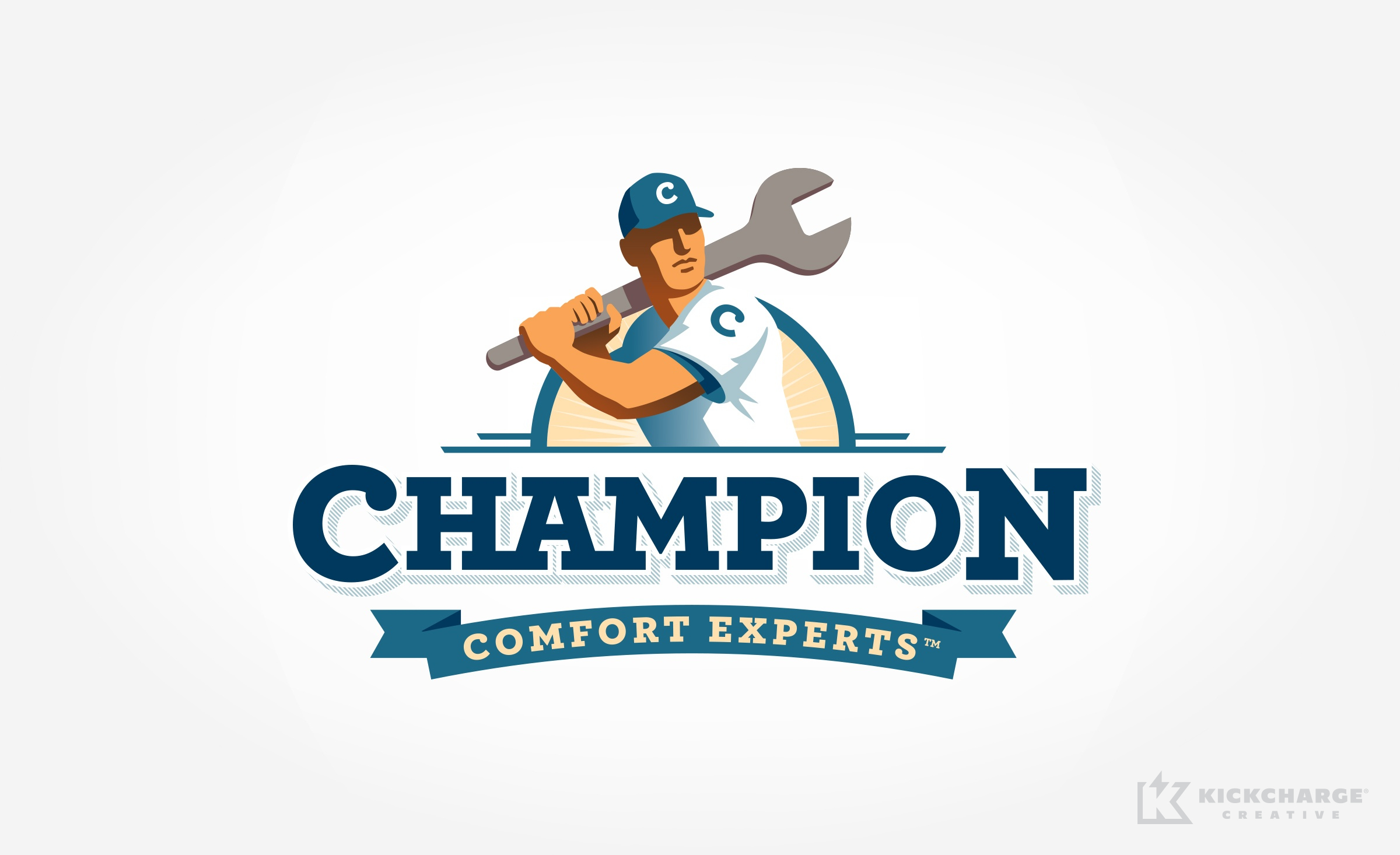 hvac logo for Champion Comfort Experts