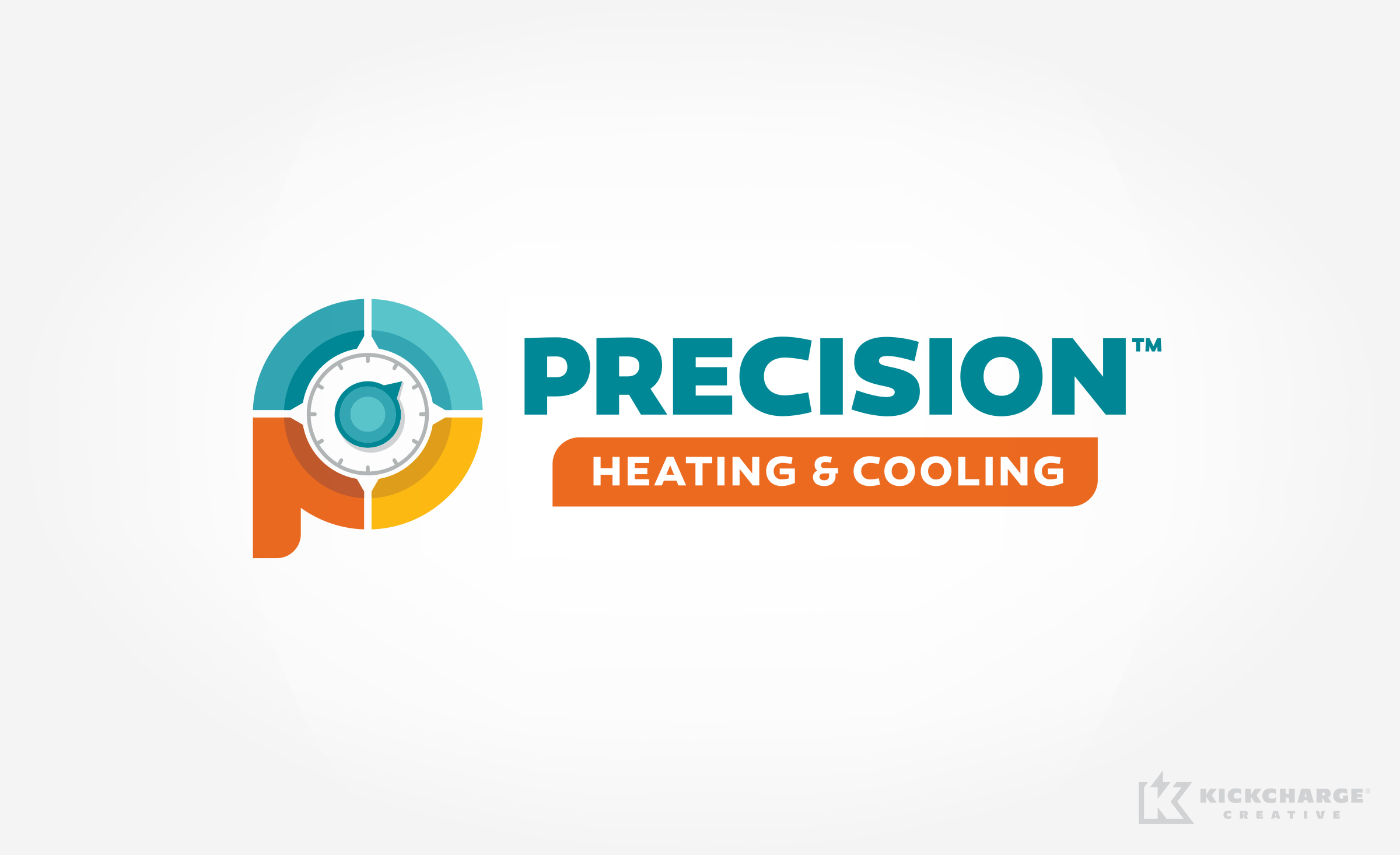 hvac logo for Precision Heating & Cooling