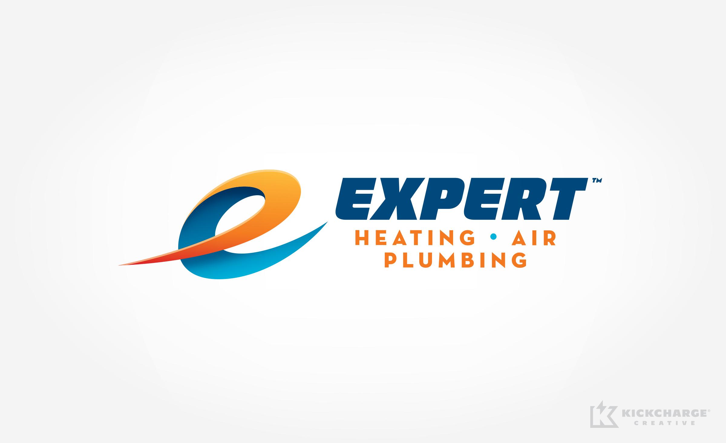 hvac logo for Expert Heating, Air & Plumbing