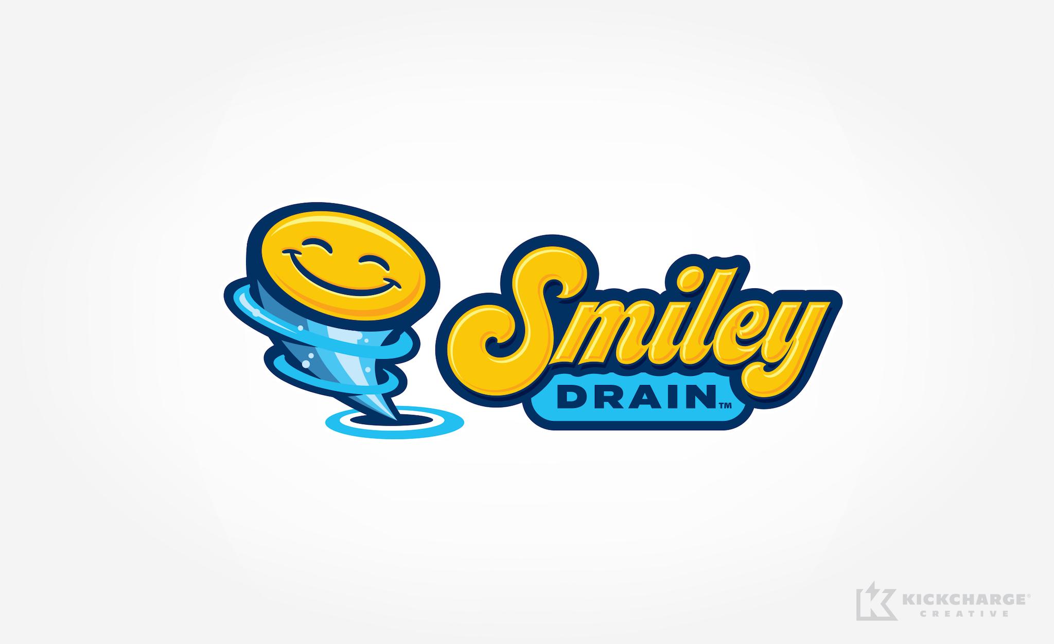 plumbing logo for Smiley Drain