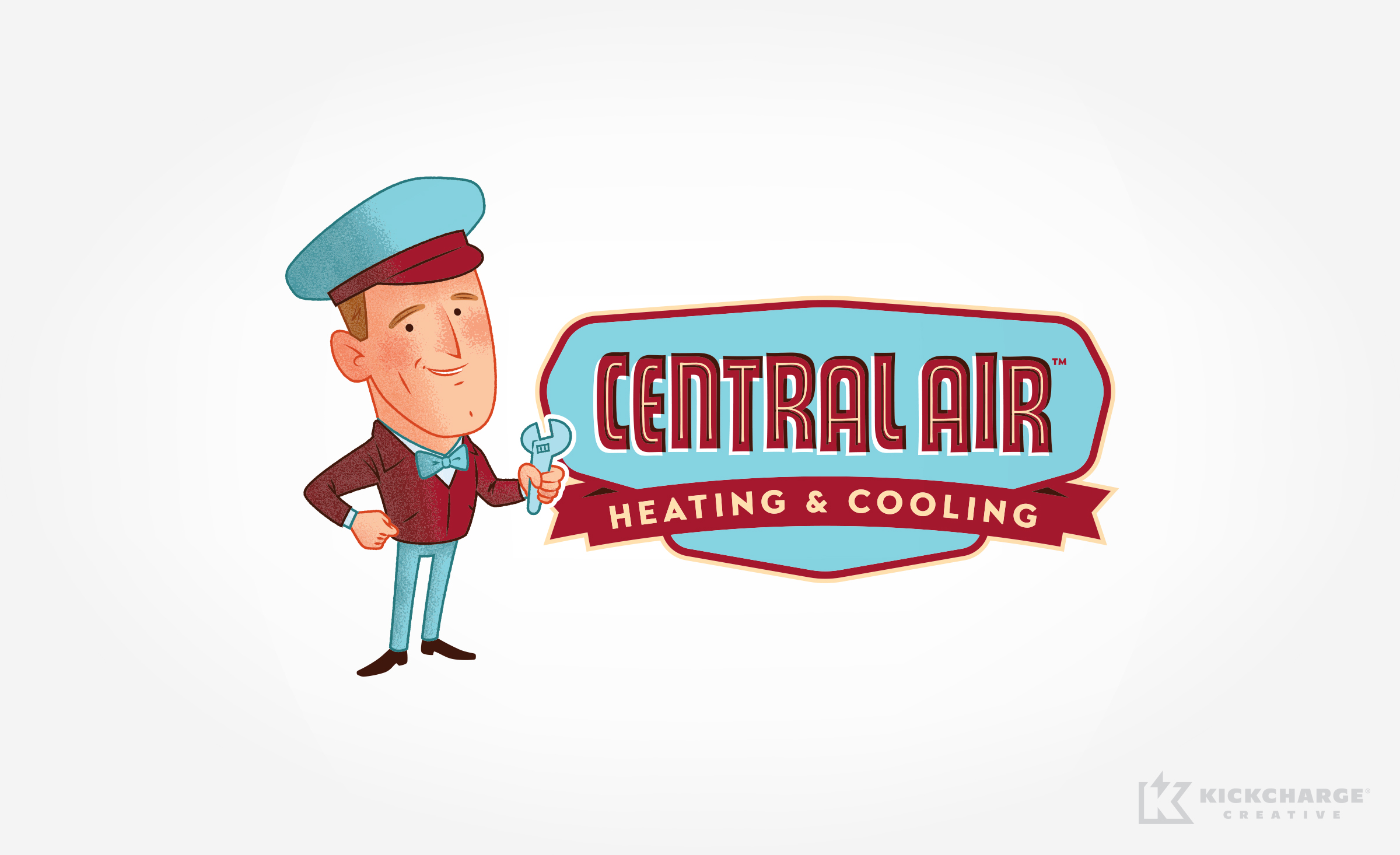 hvac logo for Central Air Heating & Cooling