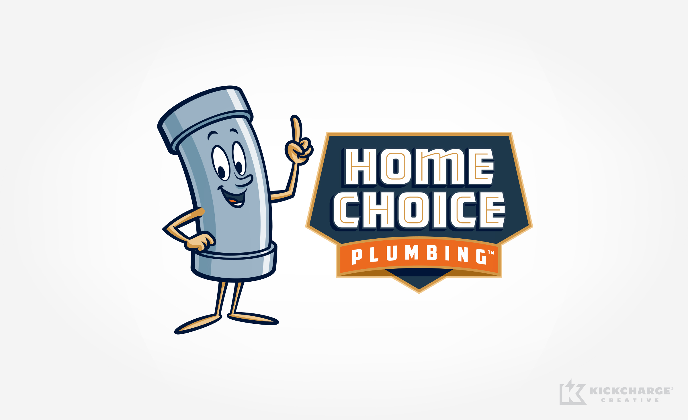 plumbing logo for Home Choice Plumbing