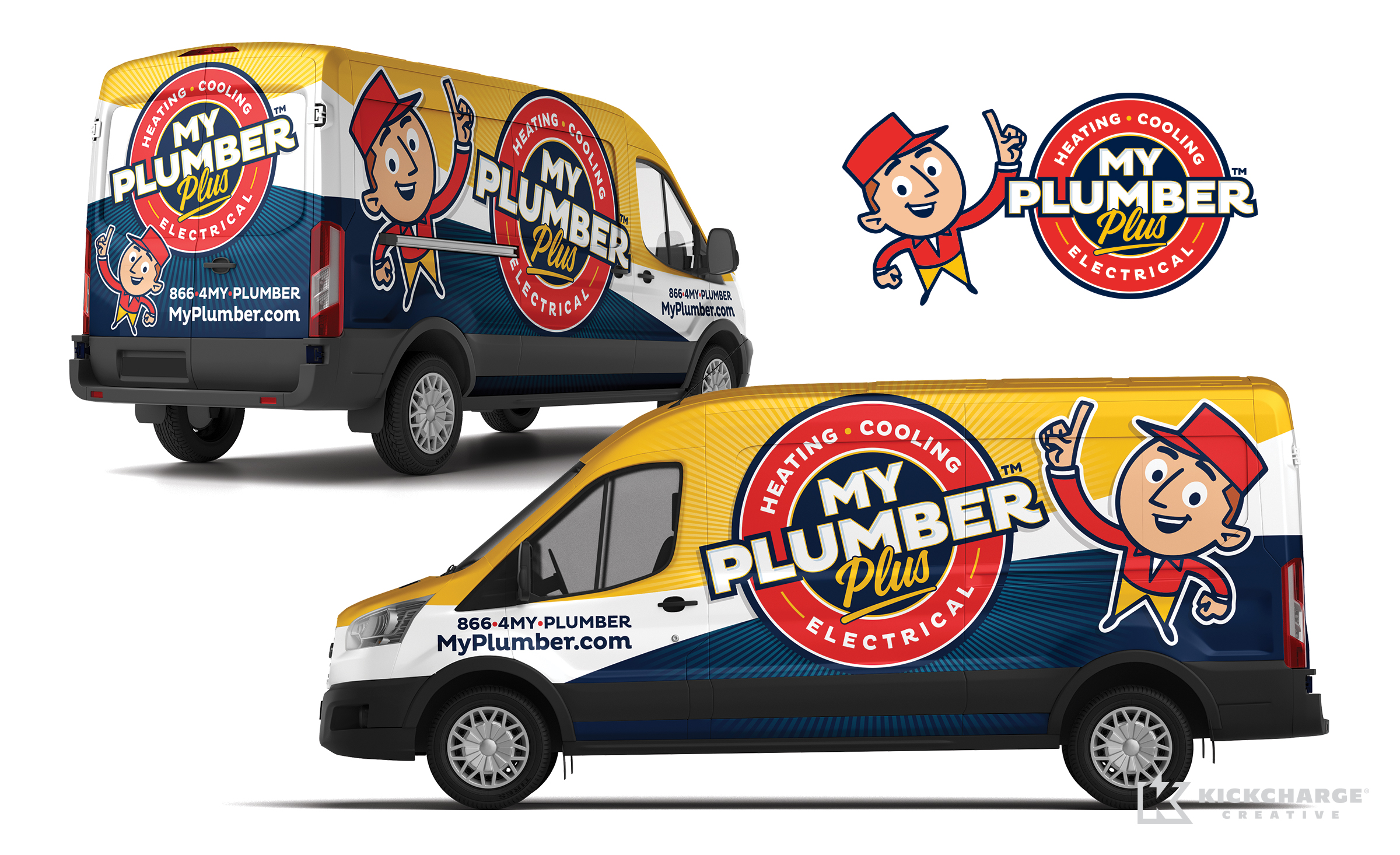 truck wrap for My Plumber
