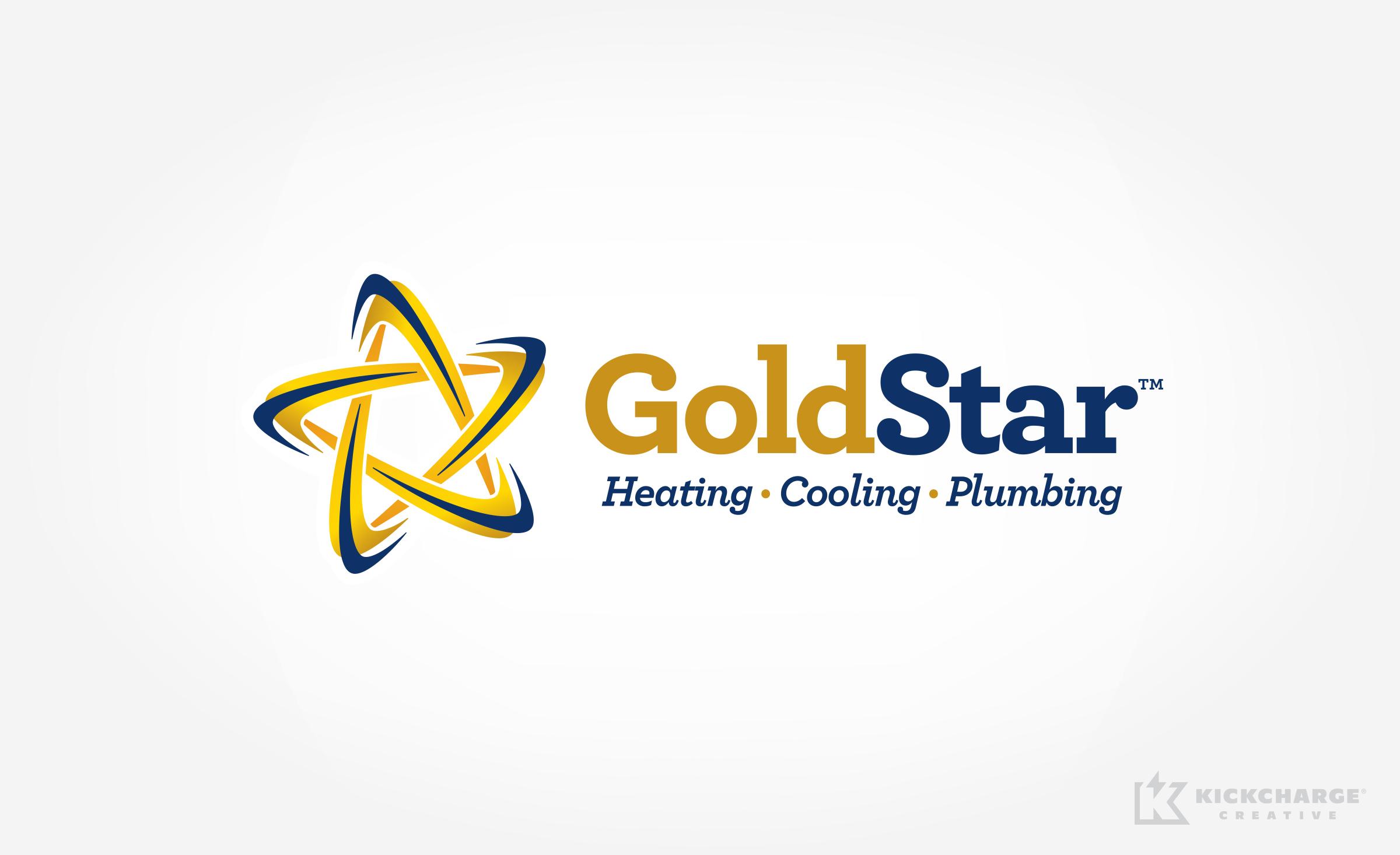 hvac logo for GoldStar