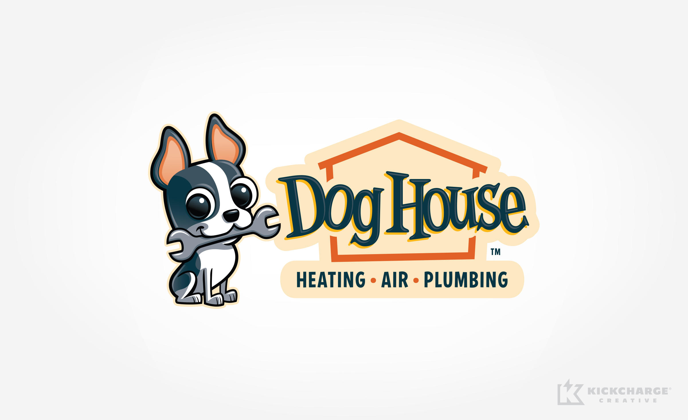 hvac logo for Dog House