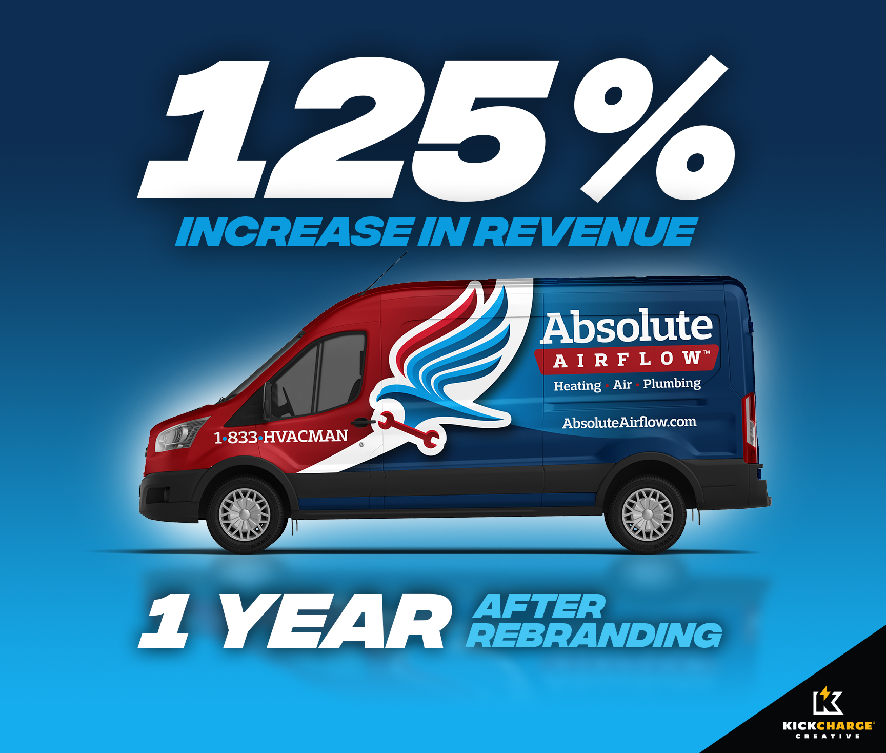 Absolute Airflow Truck Wrap - HVAC
