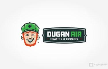 hvac logo for Dugan Air