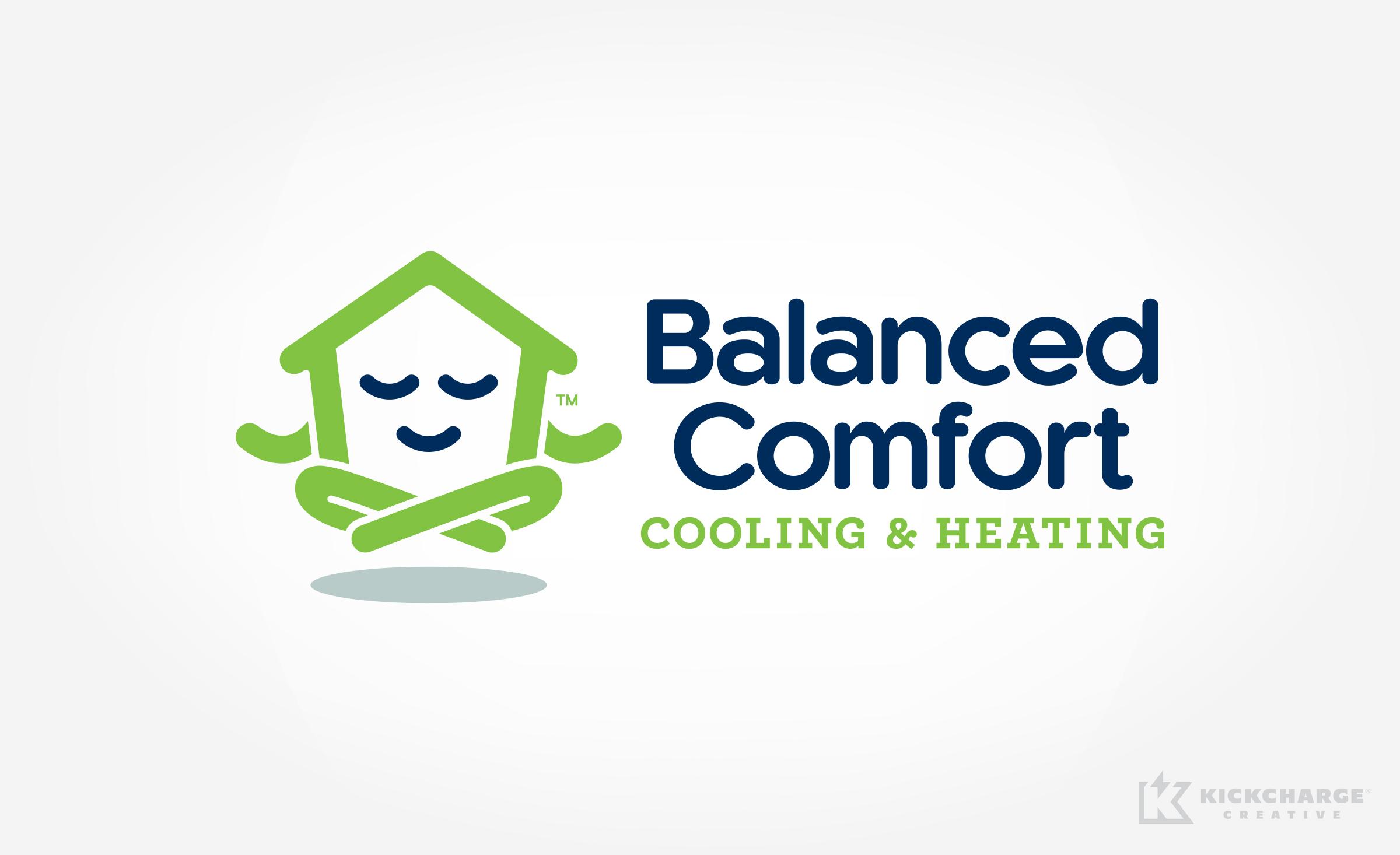 hvac logo for balanced comfort