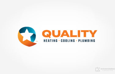 plumbing and hvac logo for Quality Heating, Cooling & Plumbing