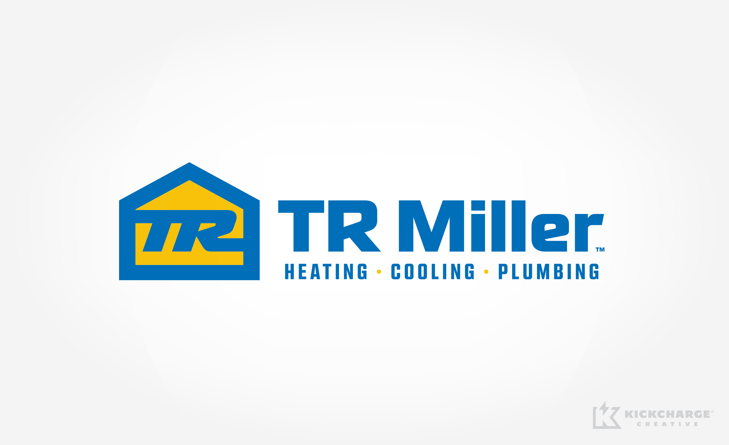 hvac and plumbing logo for TR Miller