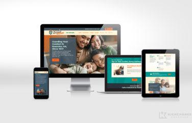 hvac website for Davis Heating & Air