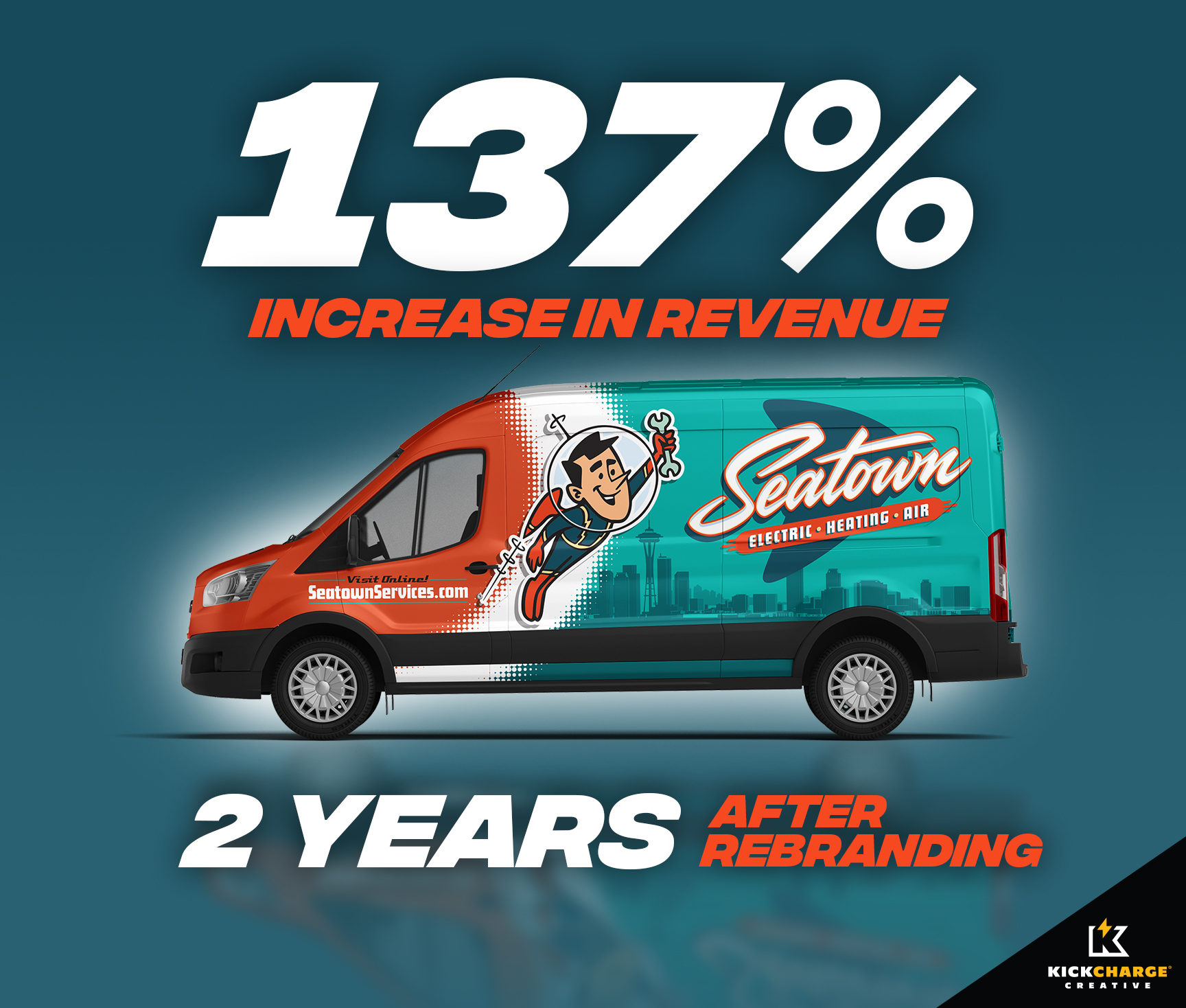 seatown revenue increase truck wrap