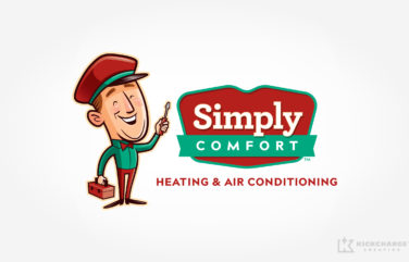 hvac logo for Simply Comfort