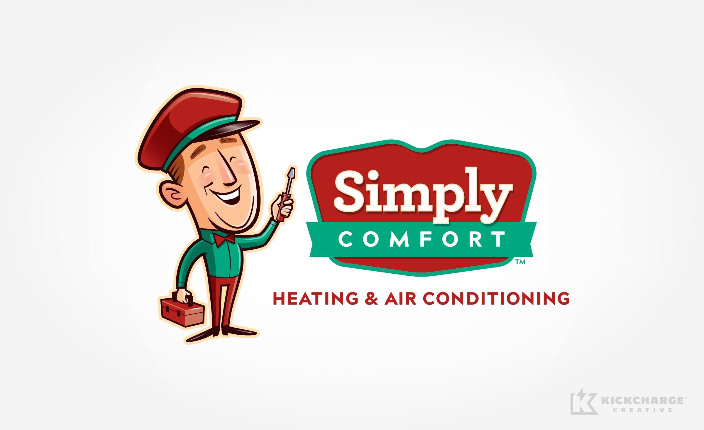 hvac logo for Simply Comfort