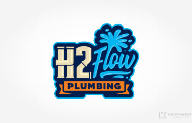 plumbing logo for H2Flow Plumbing