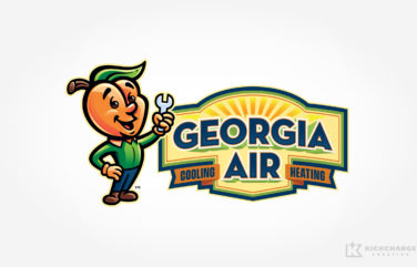 hvac logo for Georgia Air