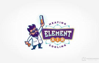 hvac logo for Element Air