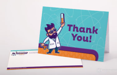 thank you card for Element Air